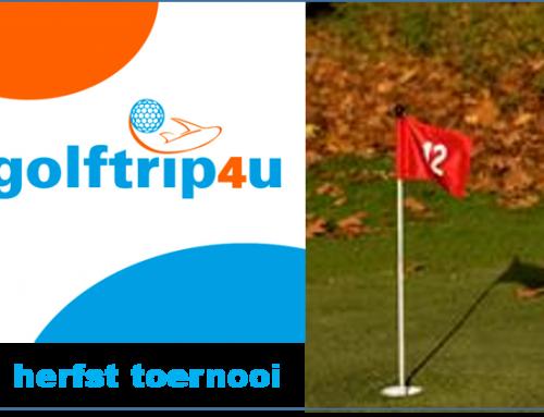 Golftrip4u herfstkampioen 2017: Dhr. W. van Zuilekom